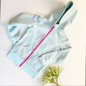 🎉🎉HP🎉🎉 Ivivva Hoodie Light blue and pink
